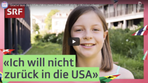 Video series on Swiss Radio and TV portrays Gracie from the US