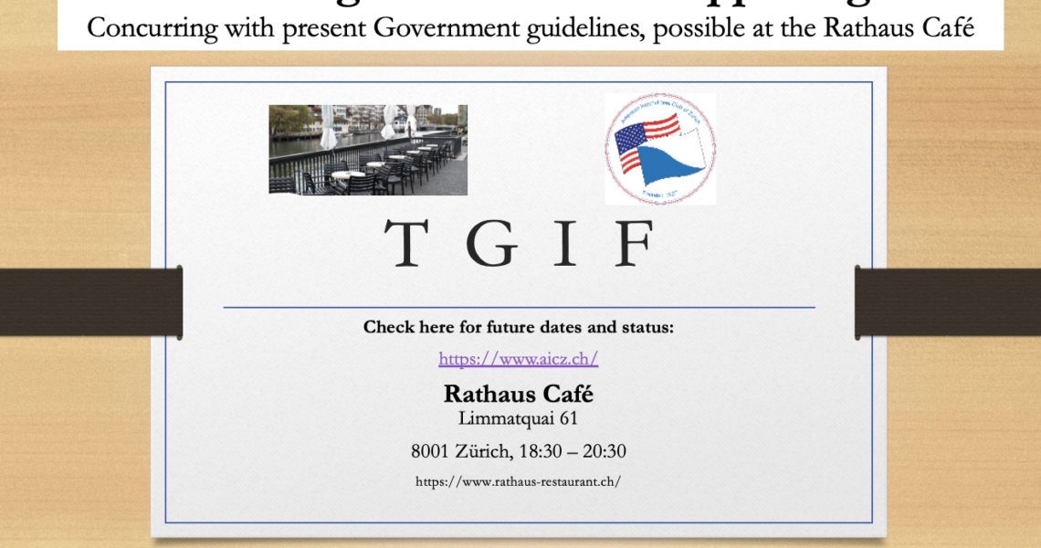 TGIF – August 20, 2021