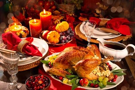 Thanksgiving Dinner – November 25, 2021